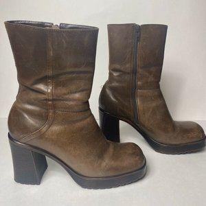 90's Steve Madden y2k 9.5 platform boots